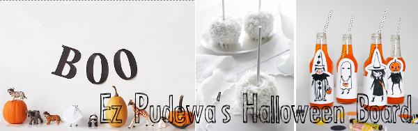 Ez Pudewa's Halloween Pinterest Board