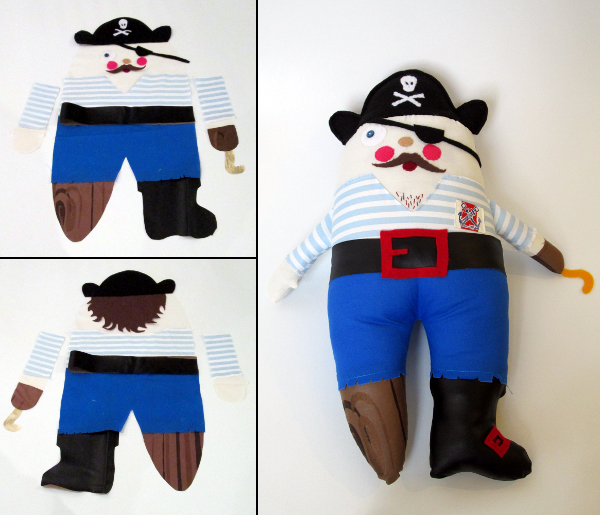 Pirate Doll | Red Circle Crafts