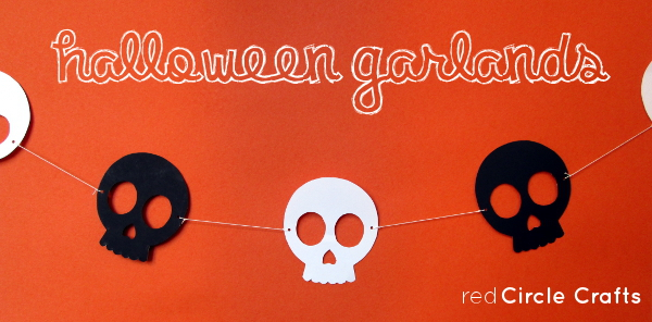 Halloween Garlands | Red Circle Crafts