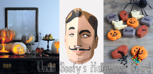 Uncle Beefy Halloween Pinterest Board