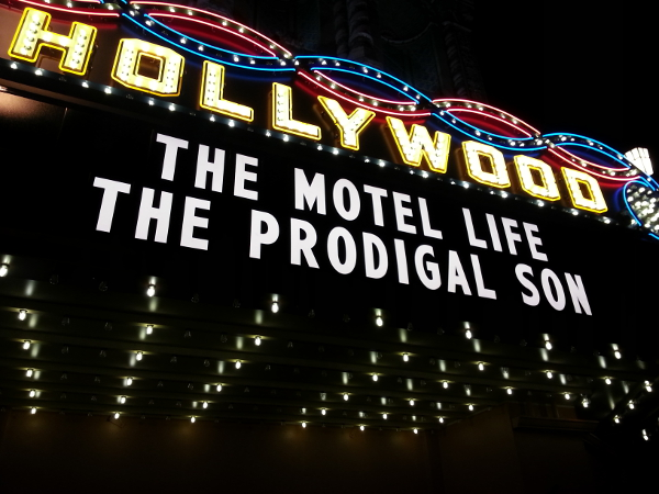 Hollywood Theater Marquee