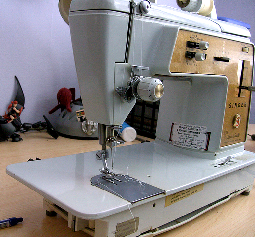 My Singer Sewing Machine