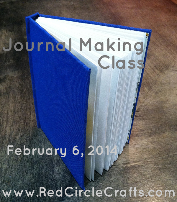Journal Making Class | Red Circle Crafts