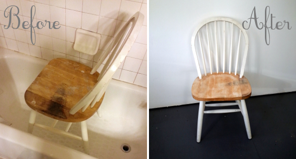 Before & After Chairs | Red Circle Crafts