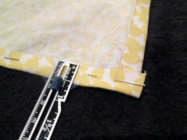 Tea Towel Tutorial | Red Circle Crafts