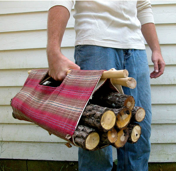 Firewood Tote from Whip Up