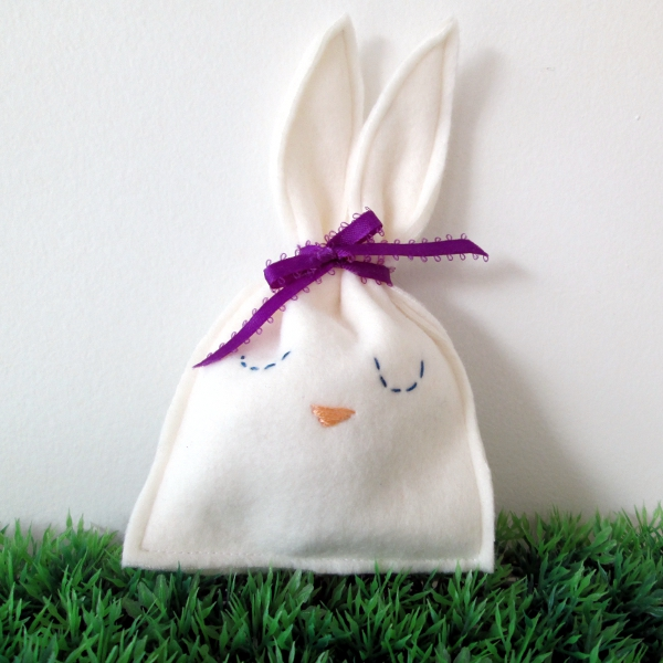 Bunny Candy Pouch | Red Circle Crafts