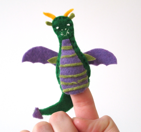 Fantastical Finger Puppets | Red Circle Crafts