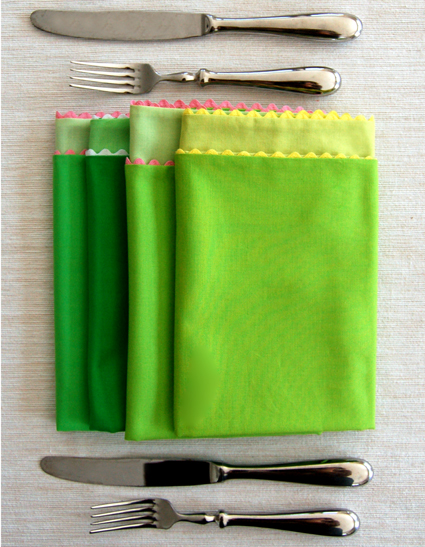 Spring Cloth Napkins from Purl Bee