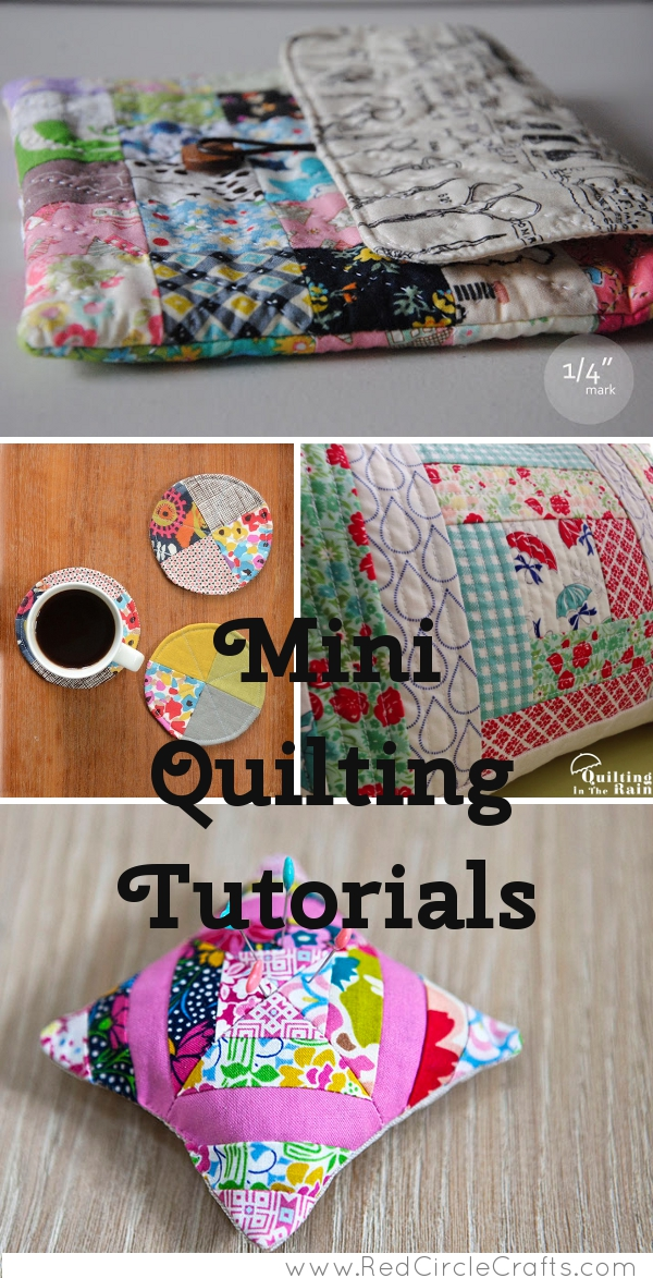 Mini Quilting Tutorials | Red Circle Crafts