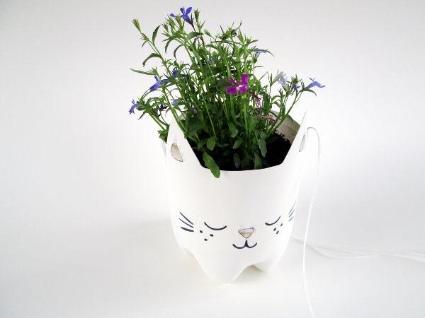 Kitty Planter | Red Circle Crafts