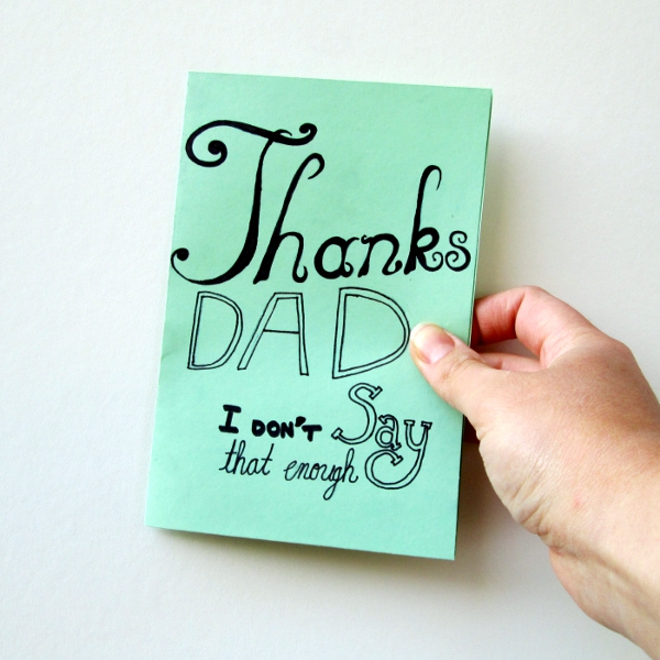Handmade Father's Day Cards | Red Circle Crafts