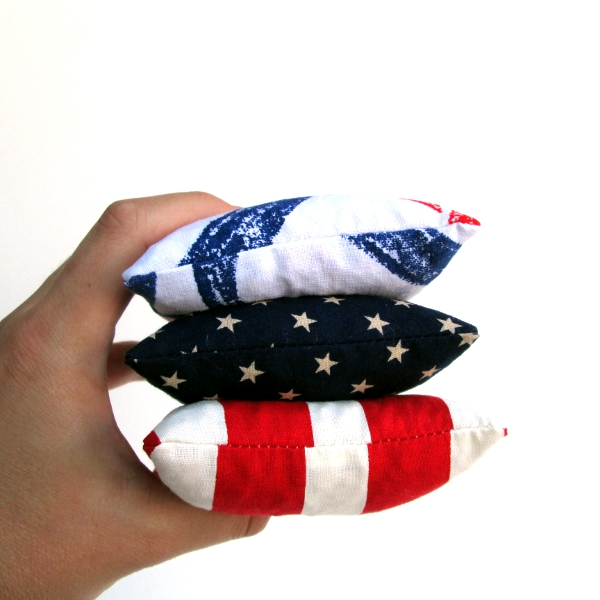 Patriotic Bean Bags | Red Circle Crafts