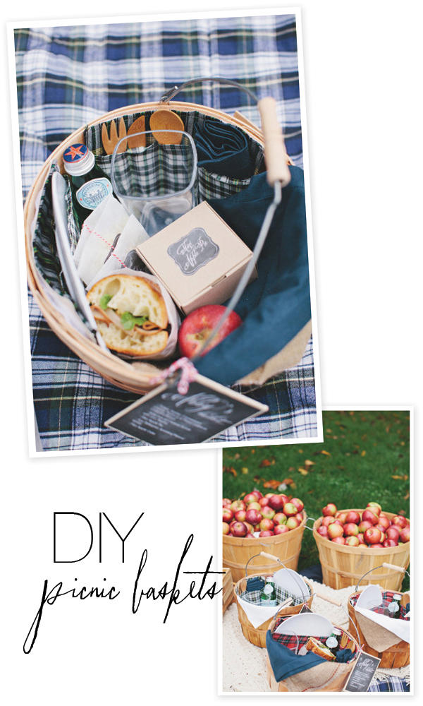 DIY Picnic Basket from Style Me Pretty