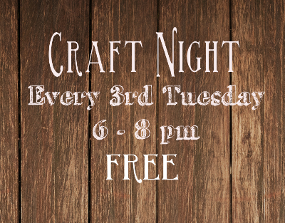 Free Craft Night | Red Circle Crafts