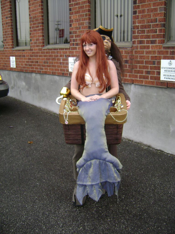 Kidnapped Mermaid Costume from ModMischief on Instructables