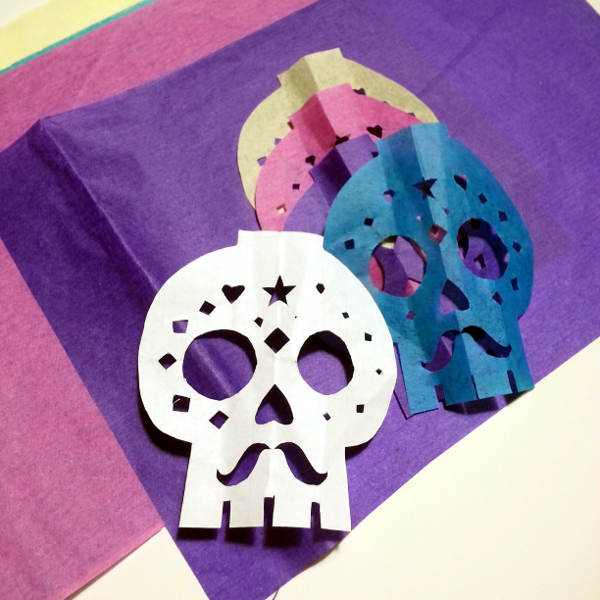 Sugar Skull Cut Outs | Red Circle Crafts