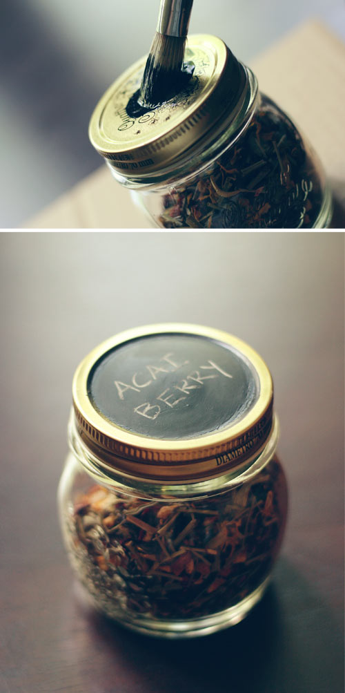 DIY: Tea Storage Jars from Wit & Whistle