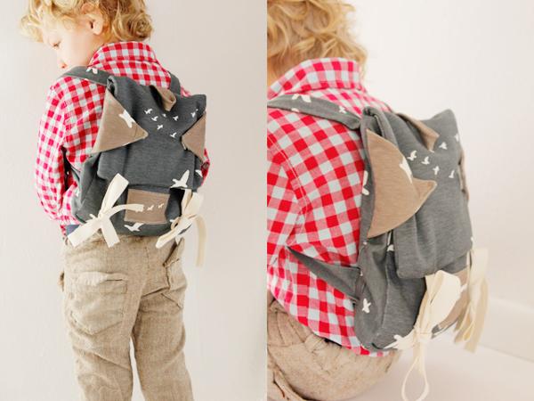 Take Flight Knapsack from See Kate Sew via Birch Fabrics