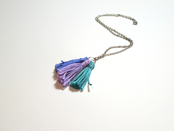 Tassel Necklace | Red Circle Crafts