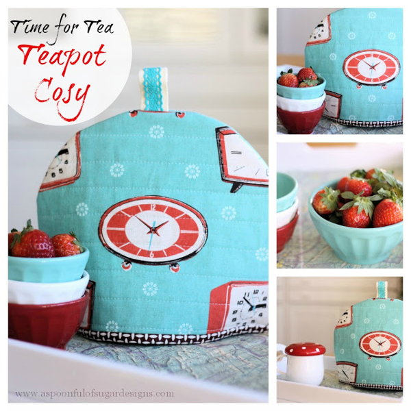 Teapot Cosy Tutorial from Spoonful of Sugar
