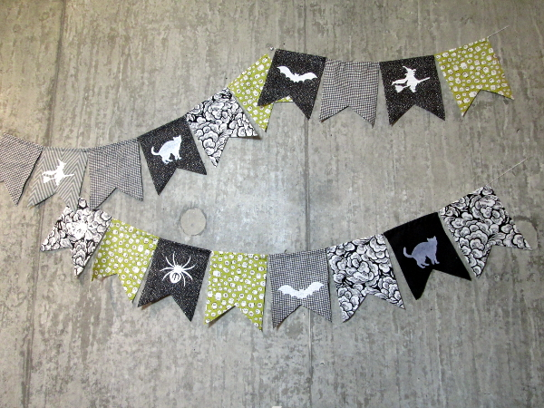 Halloween Scrappy Bunting | Red Circle Crafts