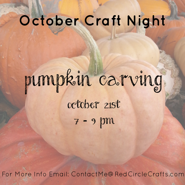 Pumpkin Carving | Red Circle Crafts