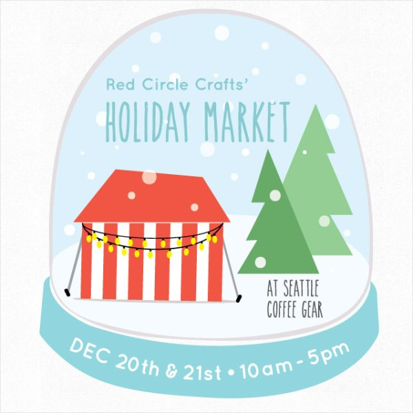 Red Circle Crafts' Holiday Market 2014