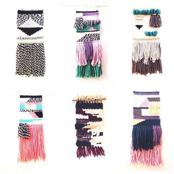 Weavings by woolandweave on Instagram