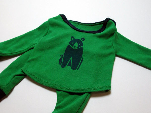 Bear Baby Outfit | Red Circle Crafts