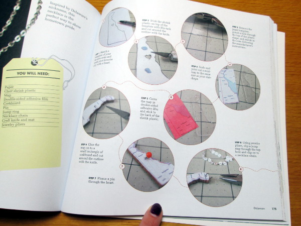 Book Review: Cut Out and Keep Around the USA in 50 Craft Projects | Red Circle Crafts