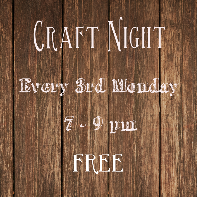 Monthly Craft Night
