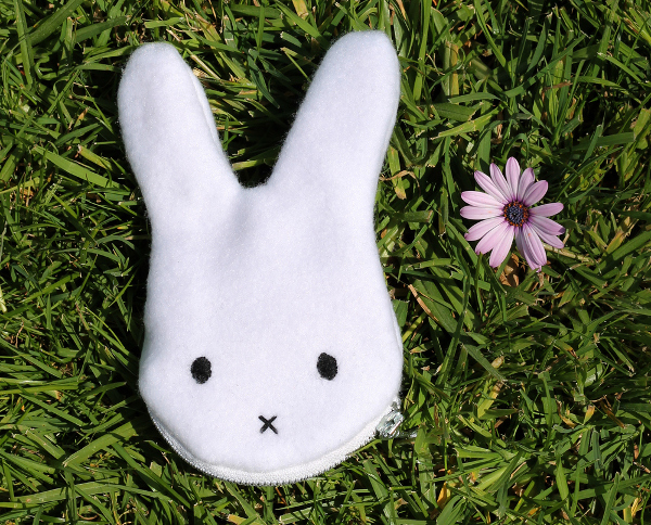 Bunny Coin Purse from Sew DIY