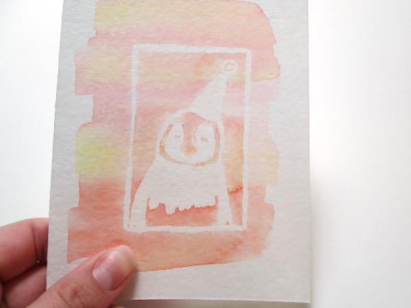 Watercolor Masking Tutorial   Red Circle Crafts