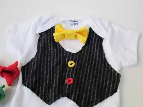 Bow Tie Onesie | Red Circle Crafts