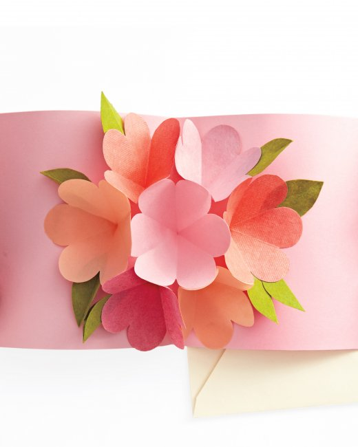 Mother's Day Pop Up Card from Martha Stewart