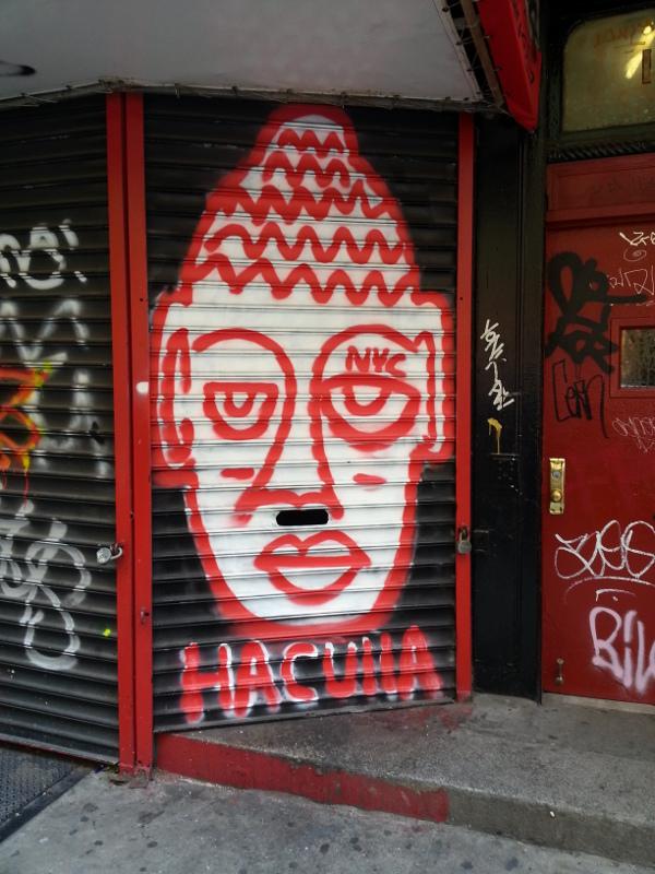 NYC Street Art | Red Circle Crafts