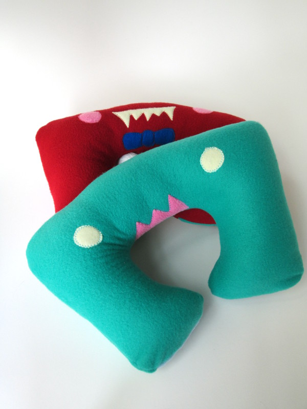 Monster Travel Pillow | Red Circle Crafts