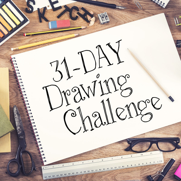 31-Day Drawing Challenge from Craftsy