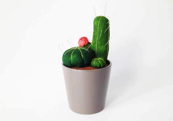 Cactus Pin Cushions from Plan B