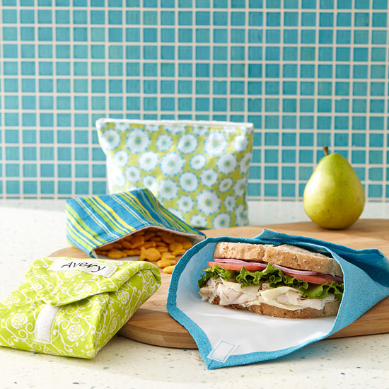 Reusable Snack Bags & Sandwhich Wraps from Better Homes & Gardens