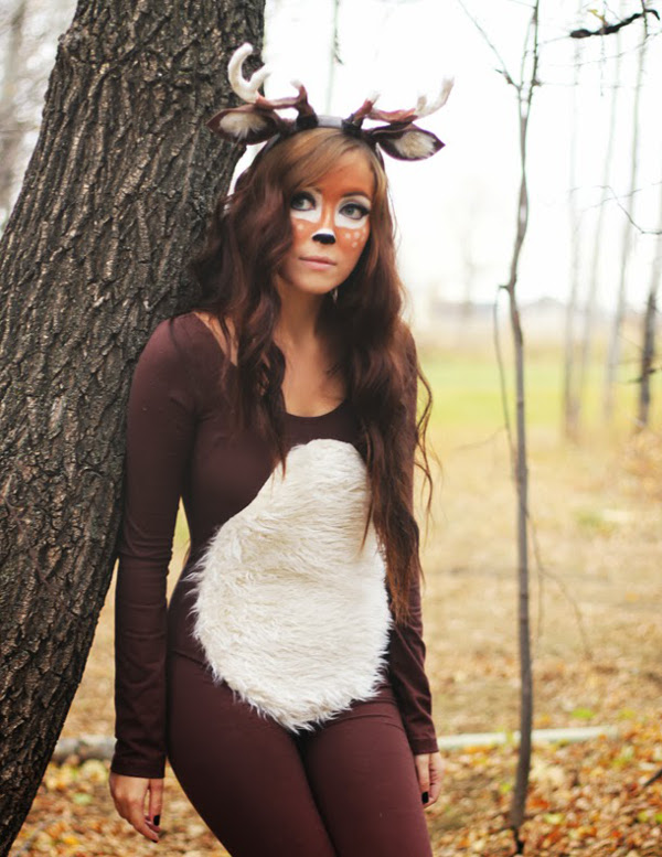 Deer Halloween Costume from Flattery