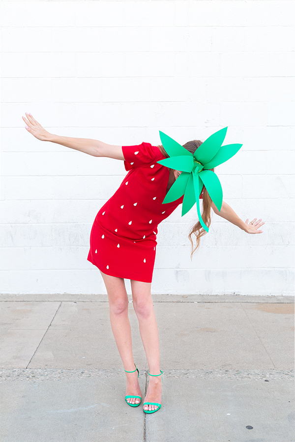 Strawberry Halloween Costume from Studio DIY