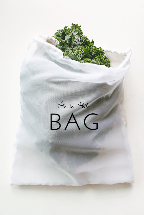 DIY Produce Bags from Well Nesting