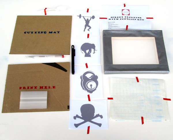 Screen Printing Kit on Etsy | Red Circle Crafts