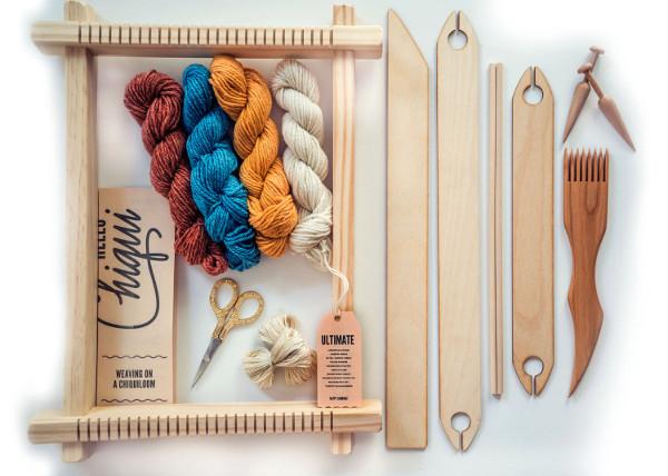 Frame Loom Weaving Starter Kit from Hello Chiqui on Etsy