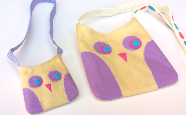 Kid-Sized Owl Bags | Red Circle Crafts