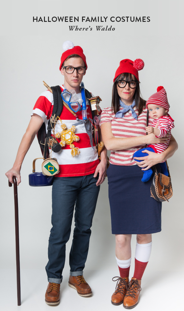 Where's Waldo Halloween Costume from Say Yes