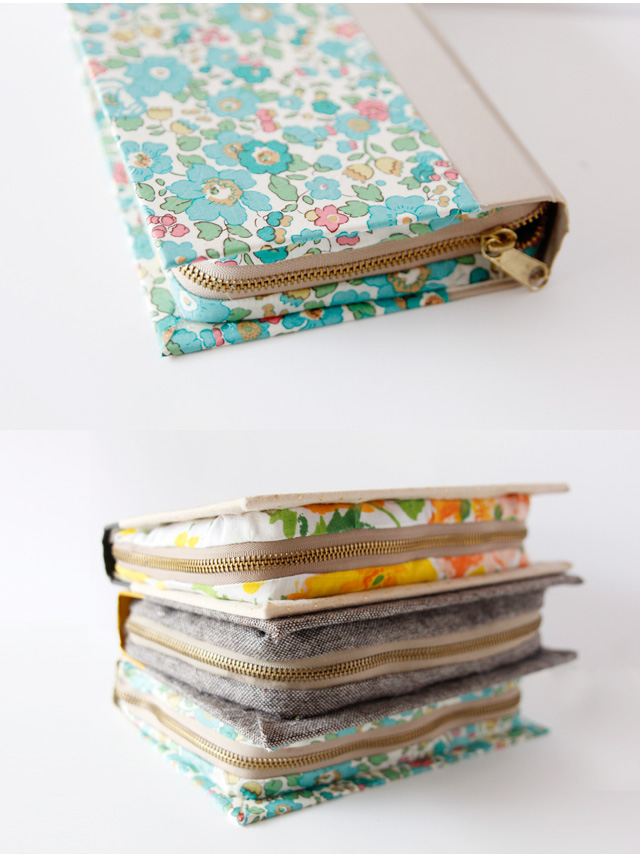 Book Clutch DIY Tutorial from See Kate Sew