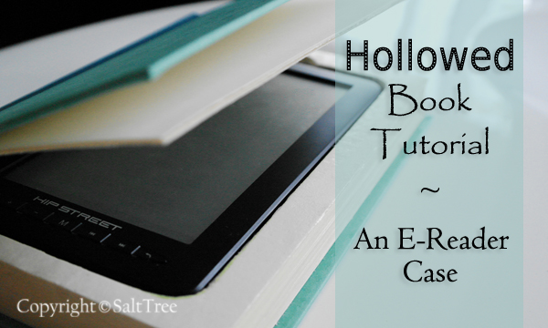 Hollowed Book Tutorial from Salt Tree